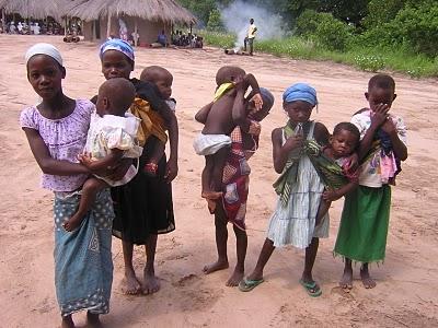 Crianças africanas