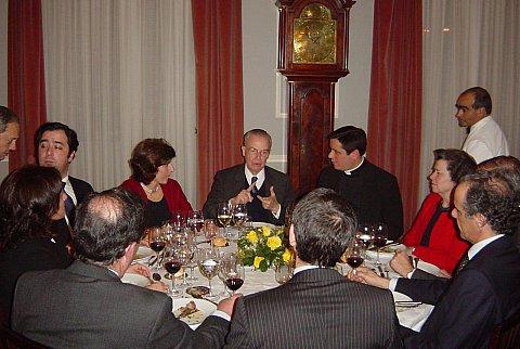 Jantar com D. Bertrand