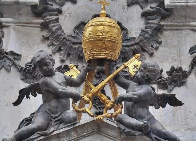 Coroa Pontifícia