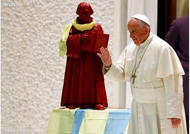 Pope Francis & Luther