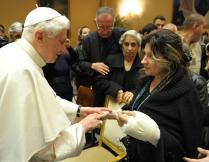 Bento XVI recebe católicos iraquianos