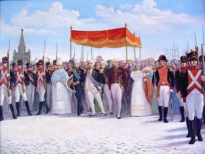 Família Real - Chegada ao Rio de Janeiro, 1808