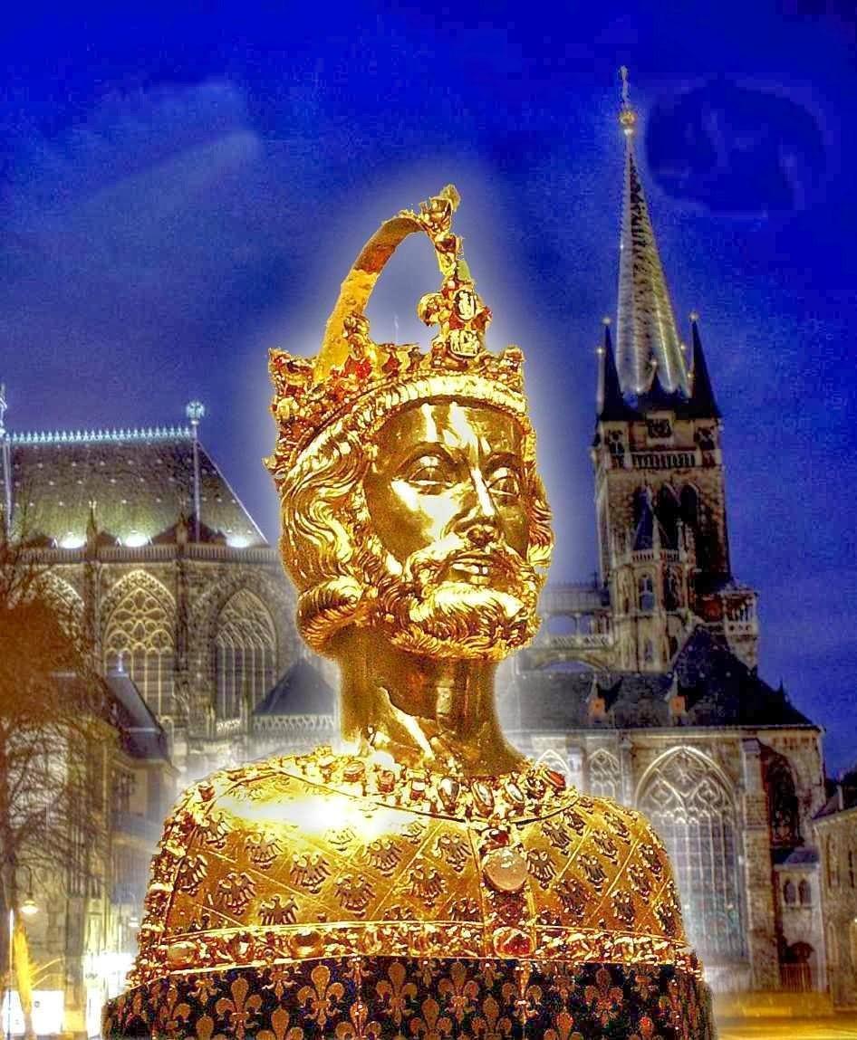 Busto-relicário de Carlos Magno