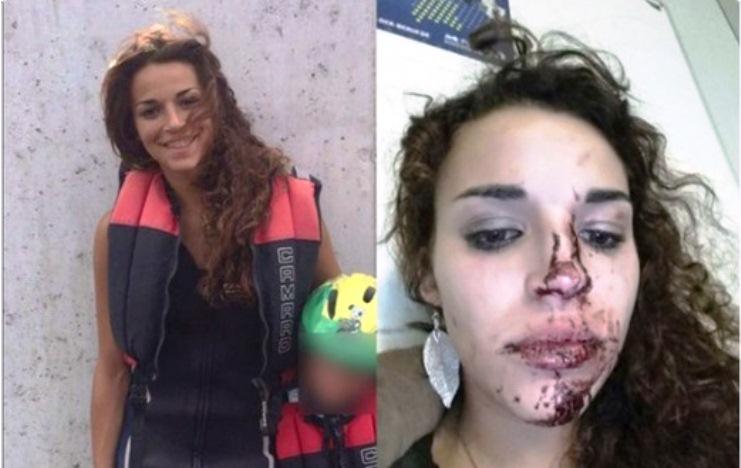 Jovem alemã agredida por muçulmanos